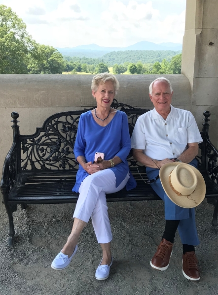 a pause at the Biltmore Estate